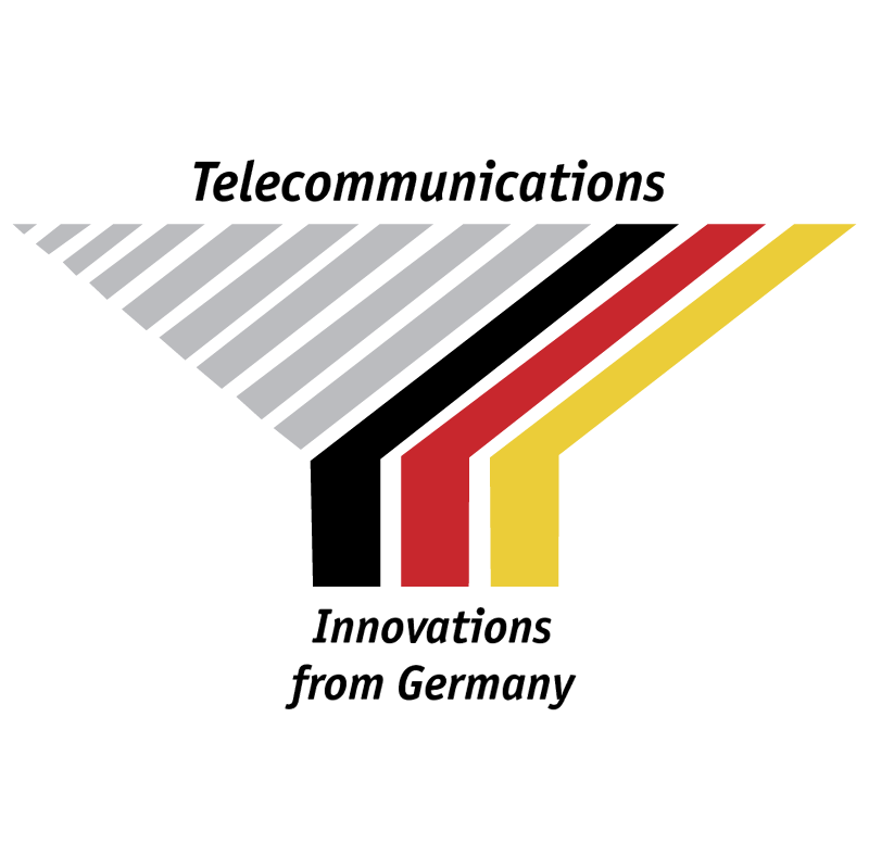 Telecommunications from Germany vector