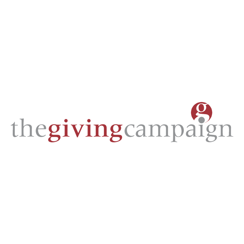 The Giving Campaign vector