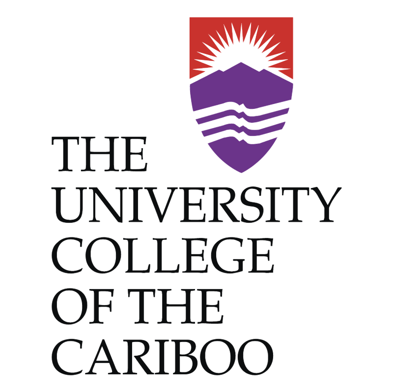 The University College Of The Cariboo vector