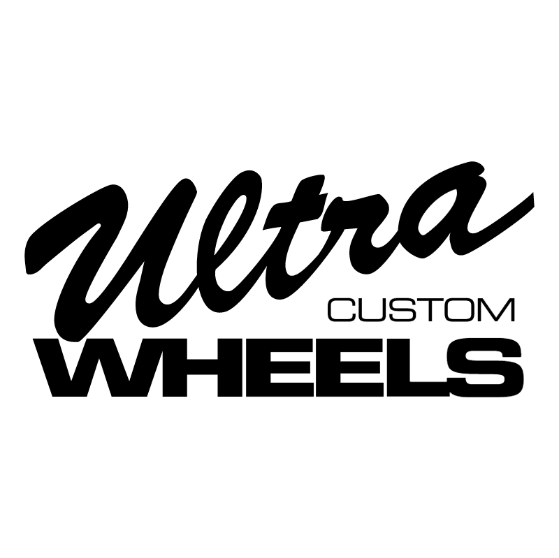 Ultra Custom Wheels vector