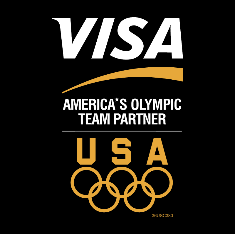 VISA America's Olympic Team Partner vector