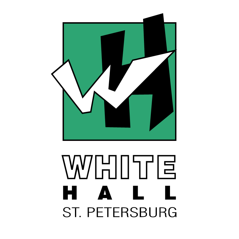 White Hall St Petersburg vector