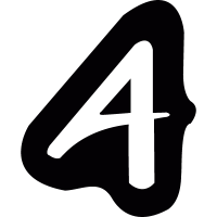 Logotype with letter A vector