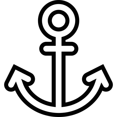 Sailor Anchor vector logo