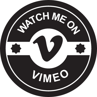 Watch me on vimeo vector logo