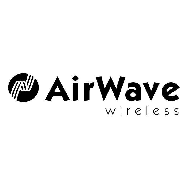 AirWave Wireless 55654 vector logo