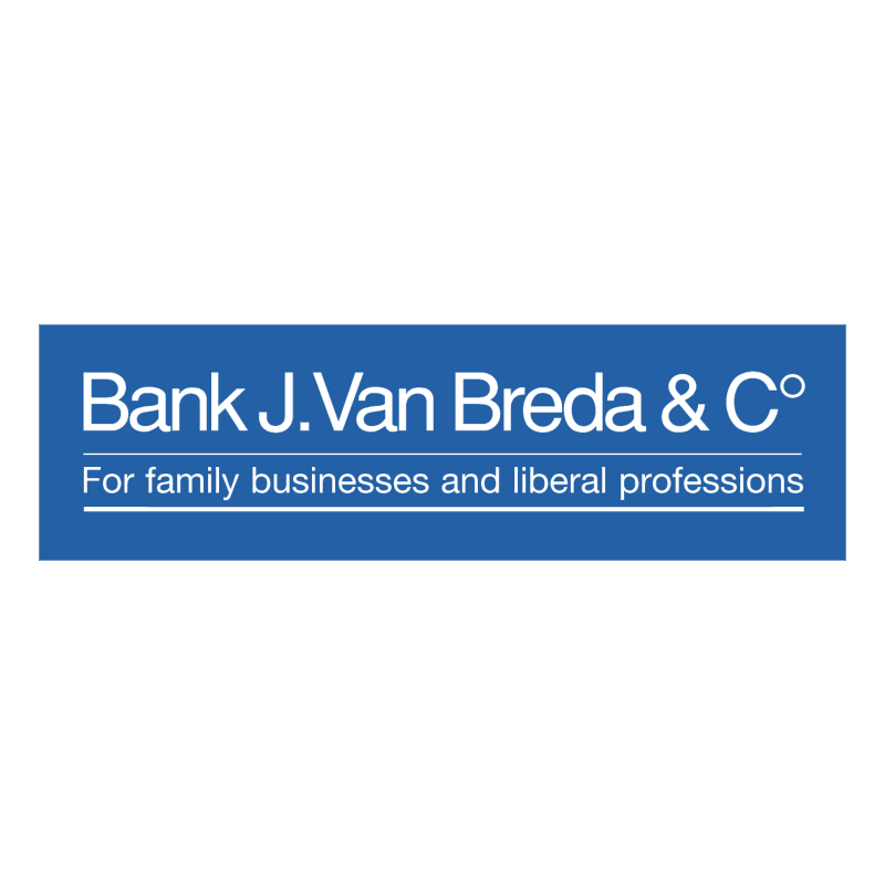 Bank J Van Breda & C 83261 vector