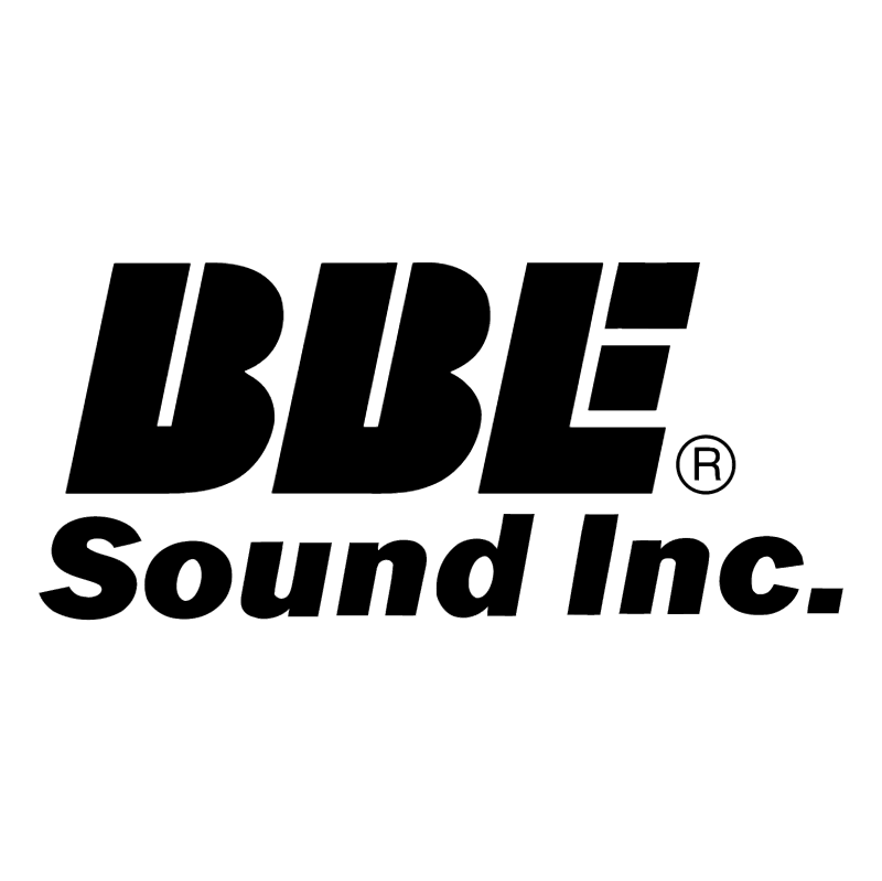BBE Sound Inc 86832 vector