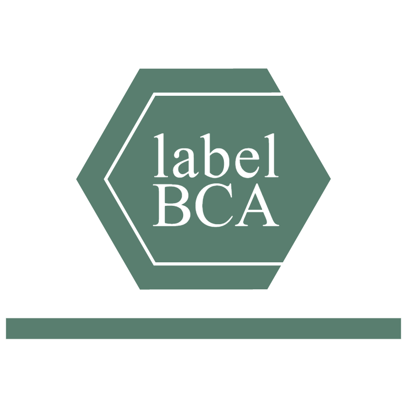 BCA Label 779 vector