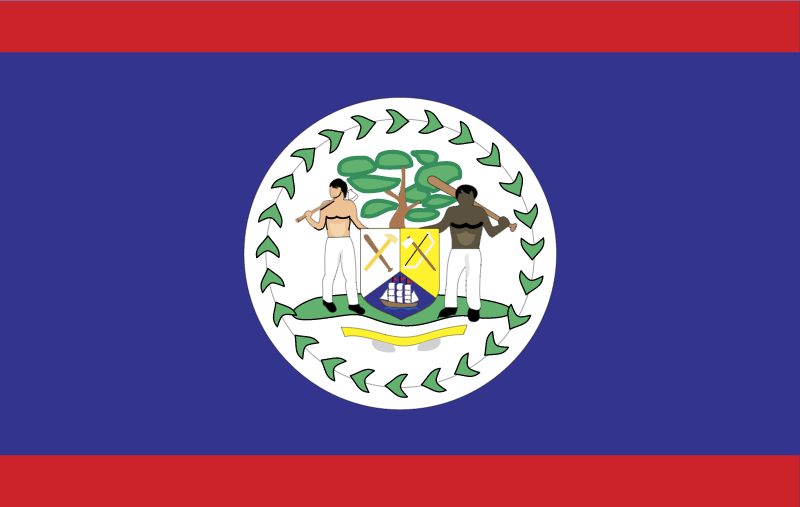 Belize vector