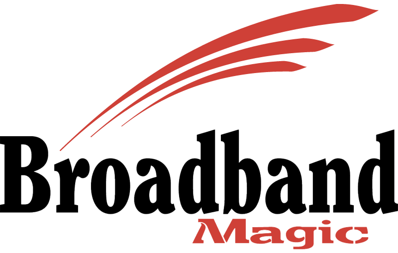BROADBAND MAGIC vector logo