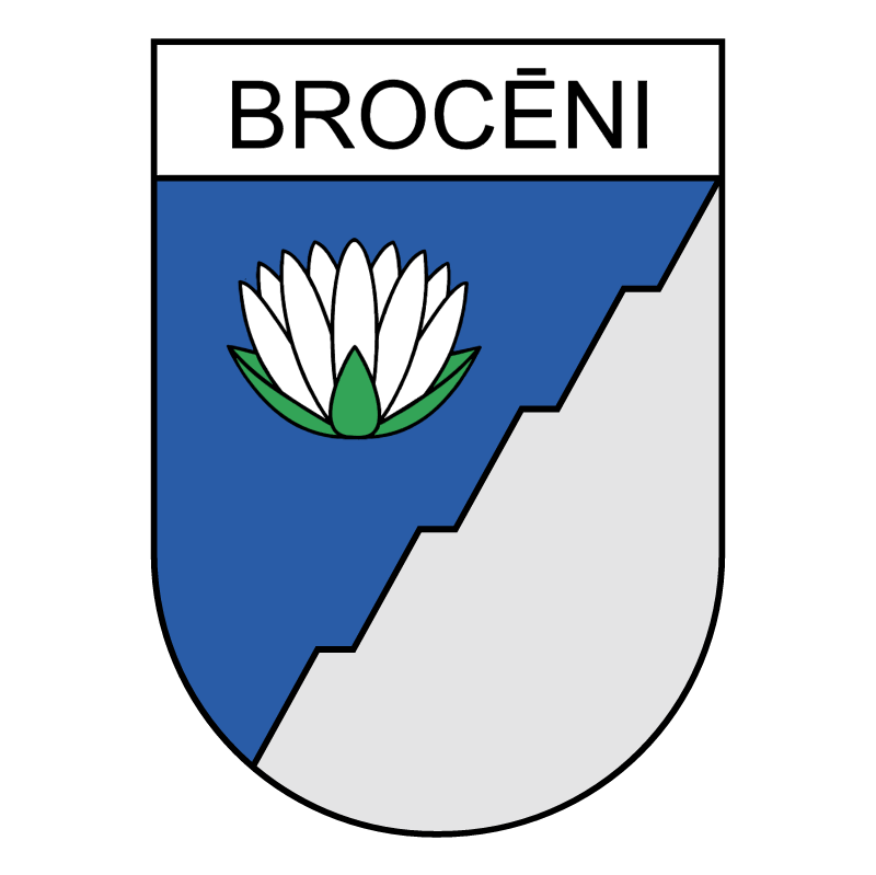 Broceni 74000 vector logo