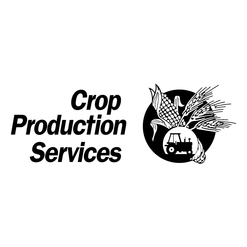 Crop Production Services vector