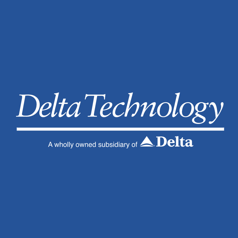 Delta Technology vector logo