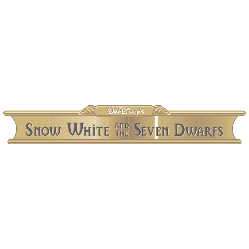 Disney's Snow White and the Seven Dwarfs vector