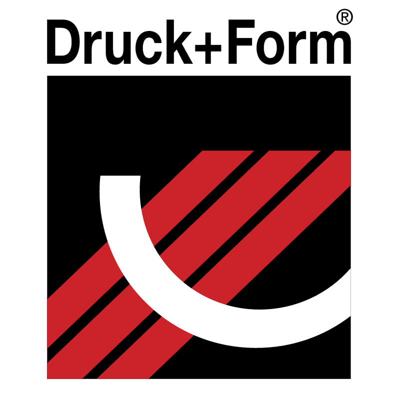 Druck + Form vector logo