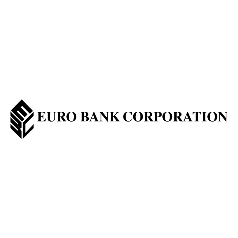 Euro Bank Corporation vector