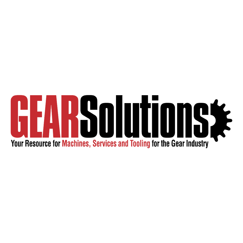 Gear Solutions vector logo