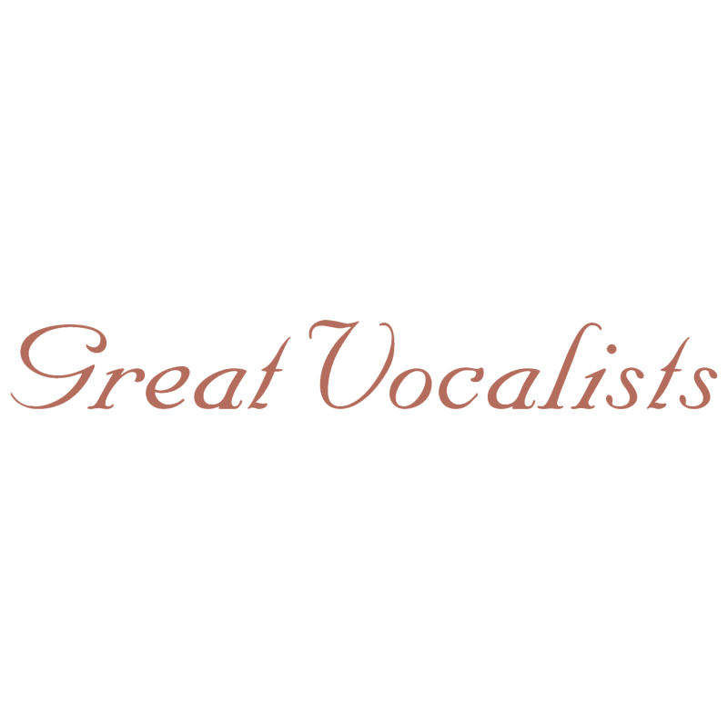 Great Vocalists vector logo