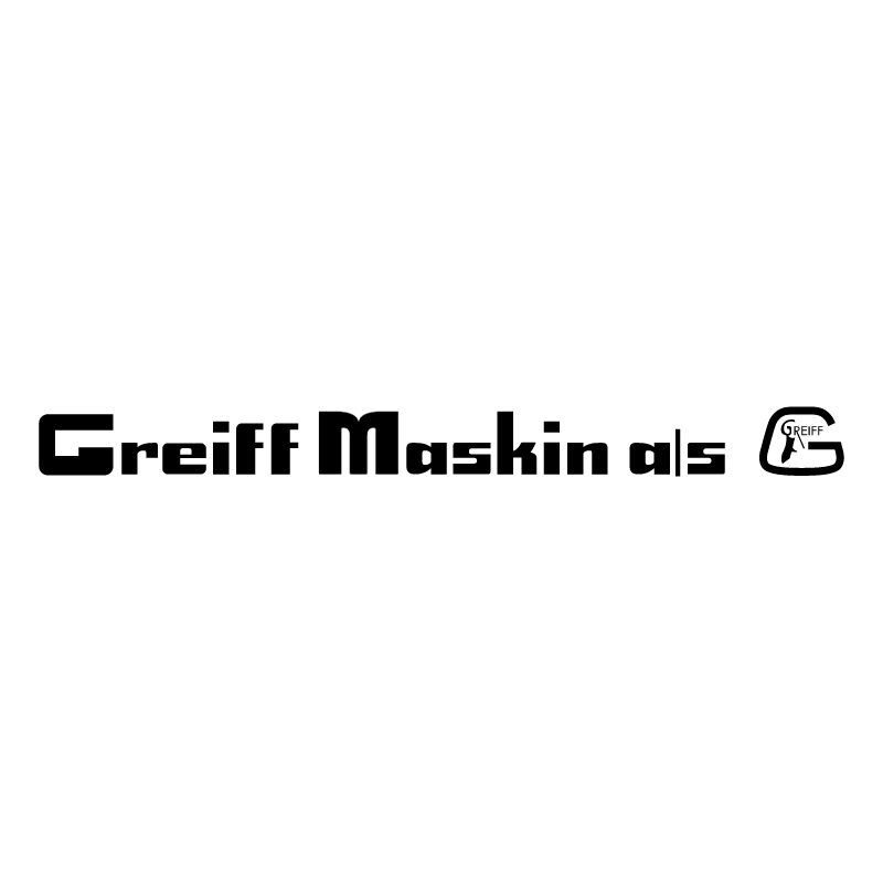 Greiff Maskini AS vector logo