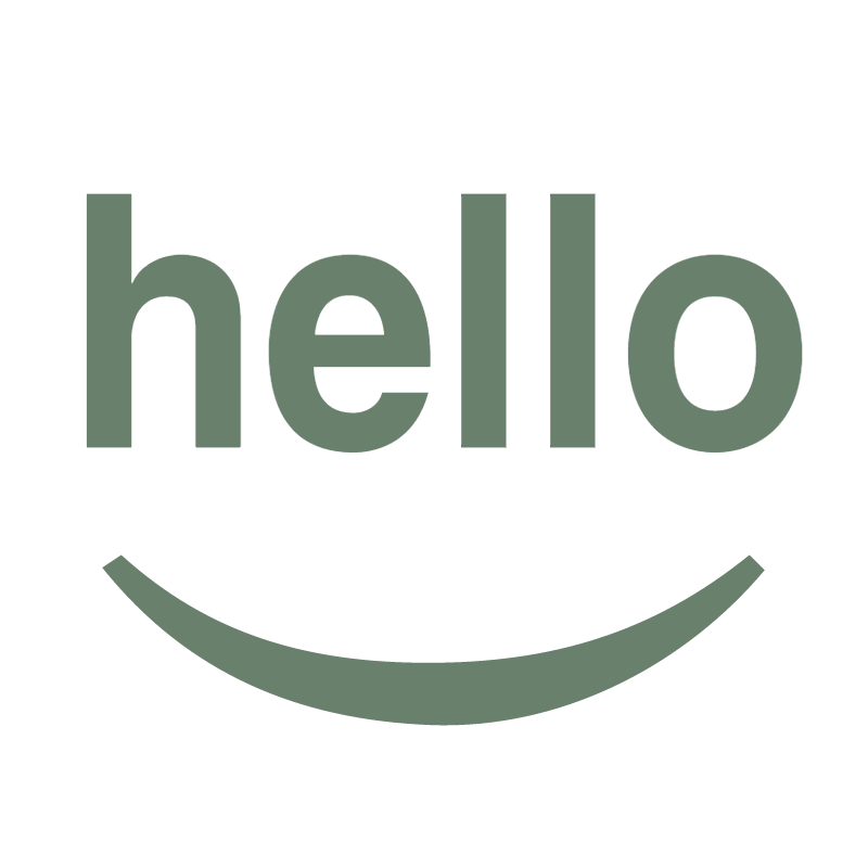 Hello Design vector
