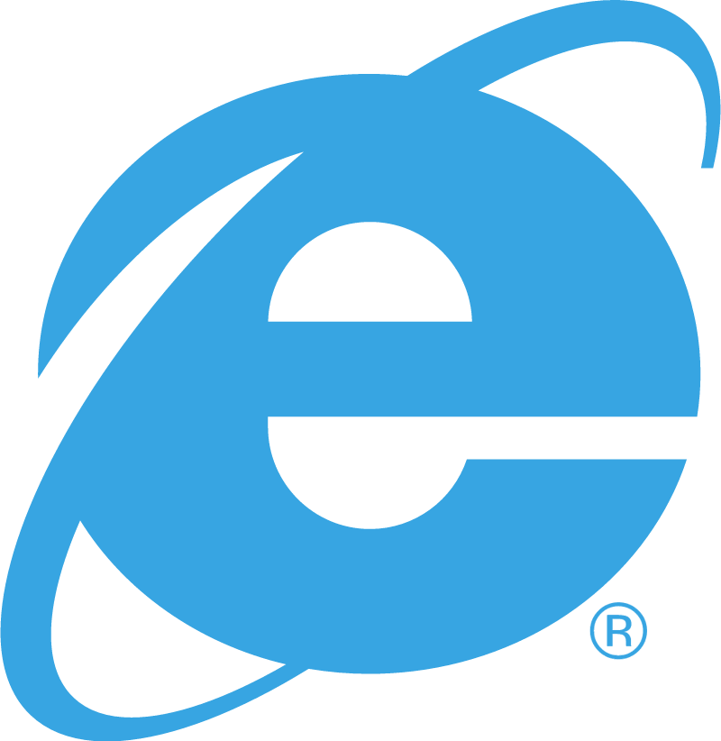Internet Explorer 2 vector logo