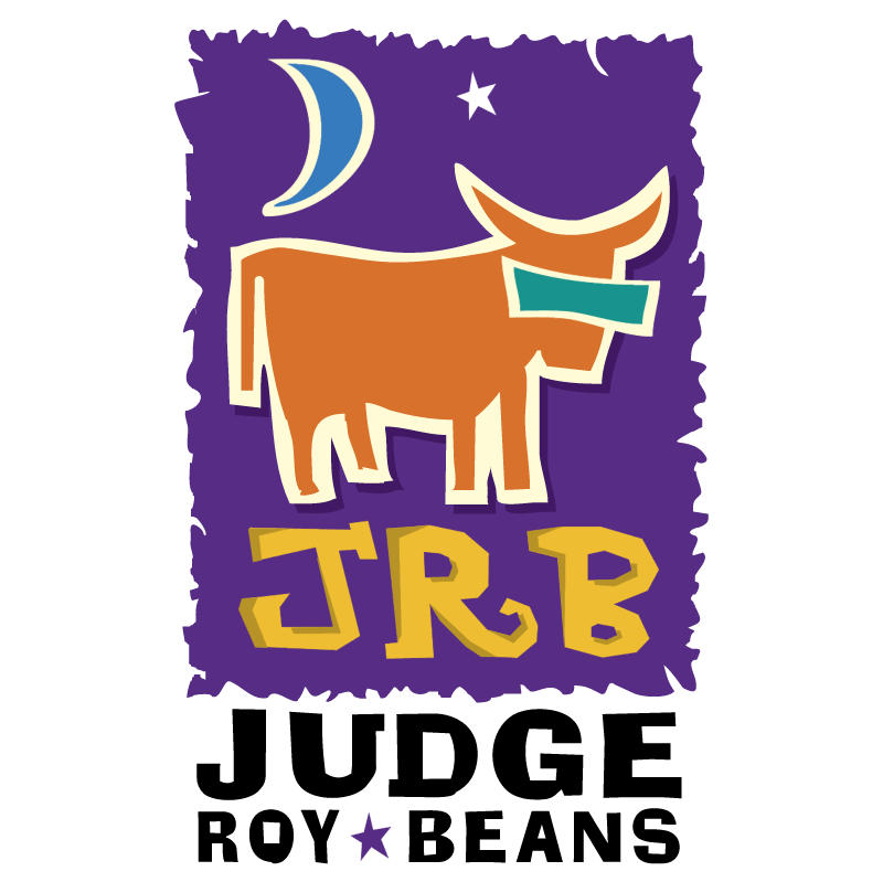Judge Roy Beans vector