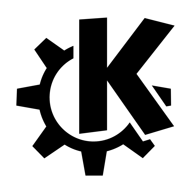 K Desktop Environment vector