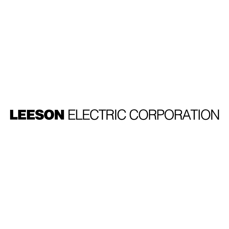 Leeson Electric Corporation vector