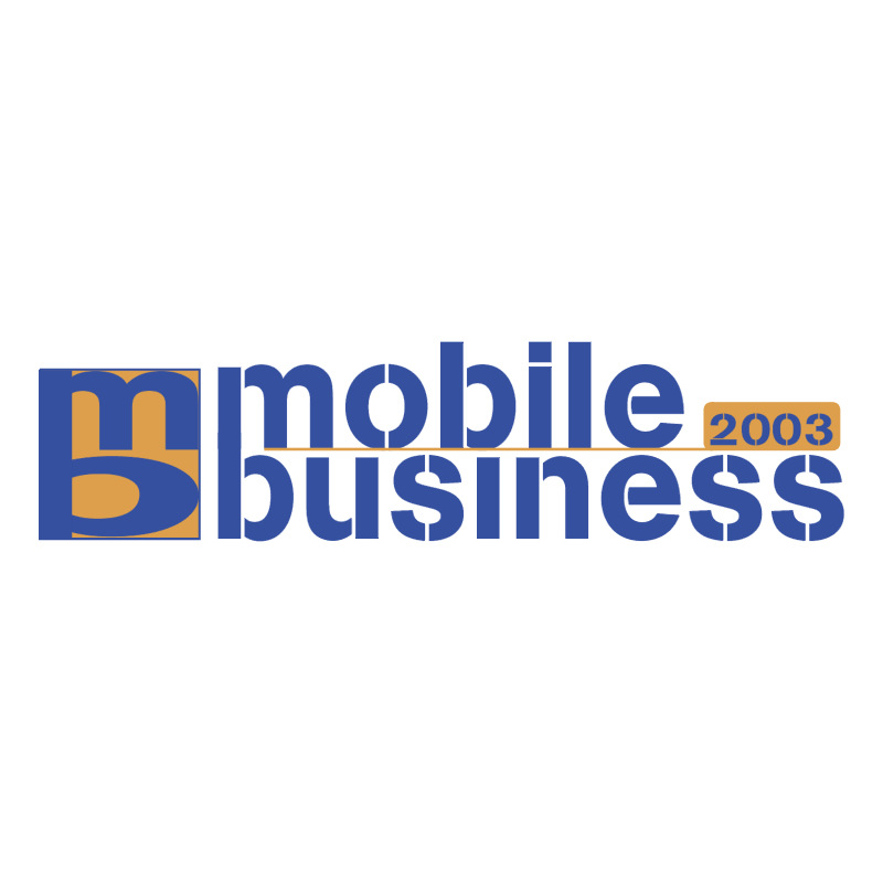 Mobile Business 2003 vector