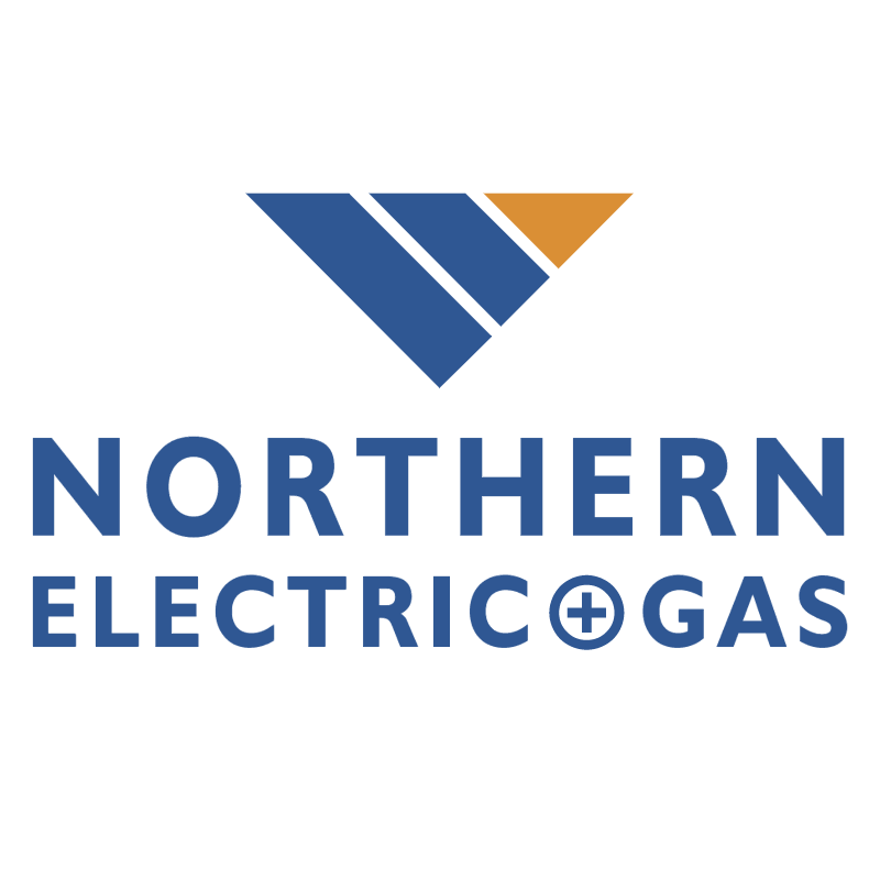 Northern Electric and Gas vector