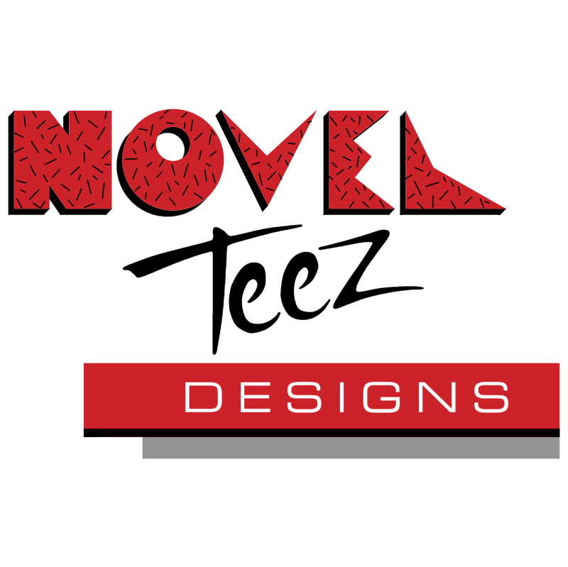 Novel Teez Designs vector