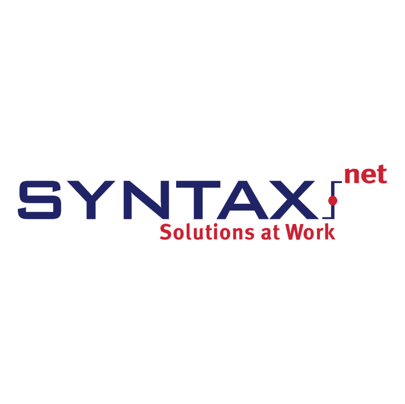 Syntax net vector logo