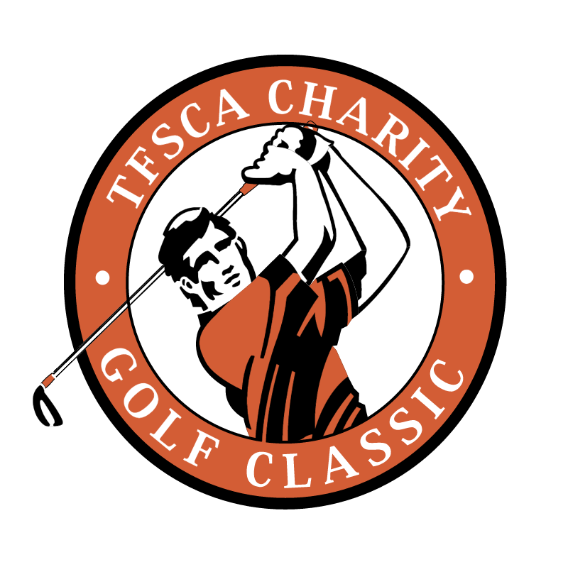 Tesca Charity Golf Classic vector logo