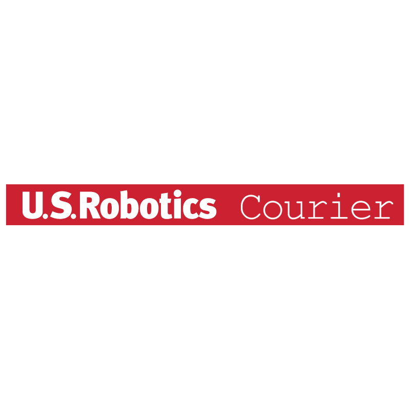 U S Robotics Courier vector