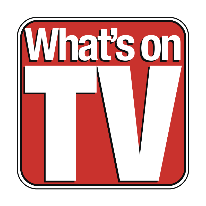 What's on TV vector logo