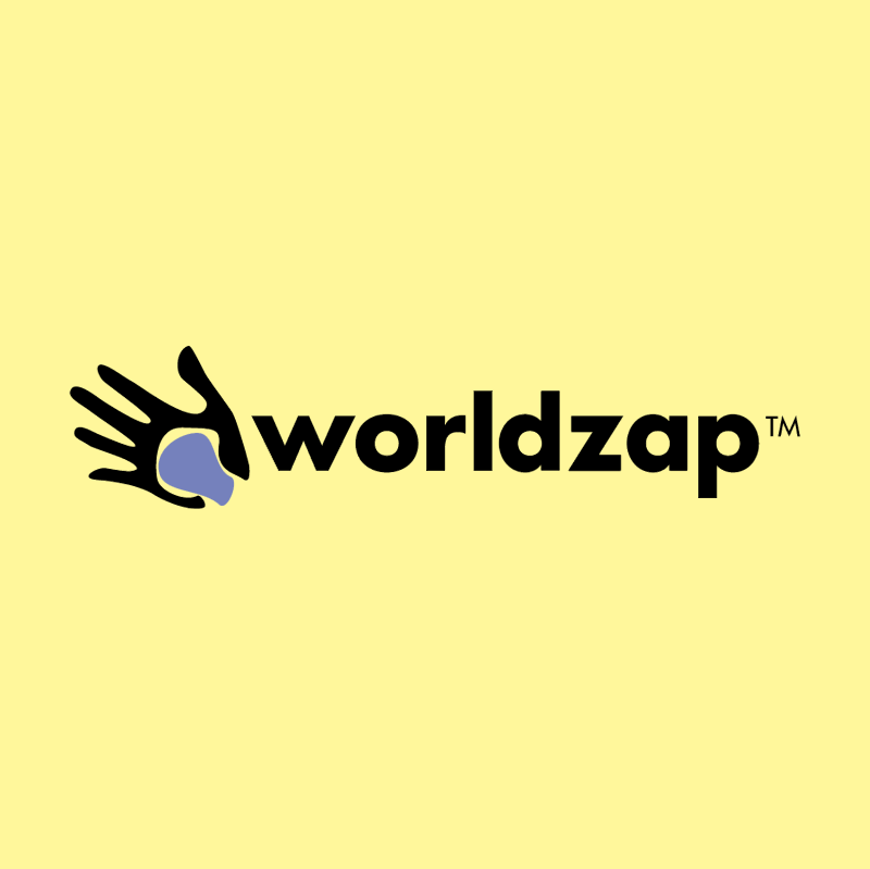 Worldzap vector logo