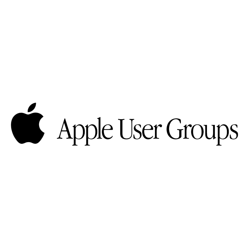 Apple User Groups vector