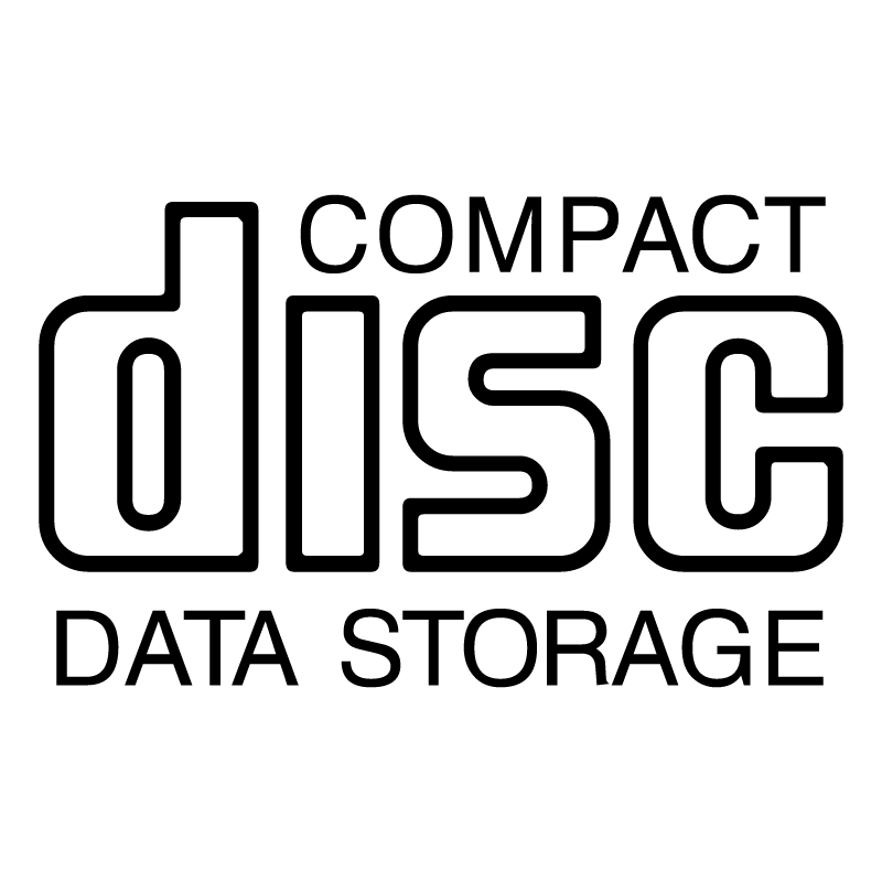 CD Data Storage vector