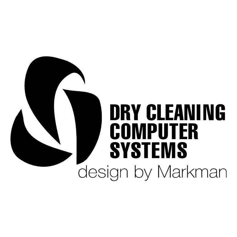 Dry Cleaning Computer Systems vector