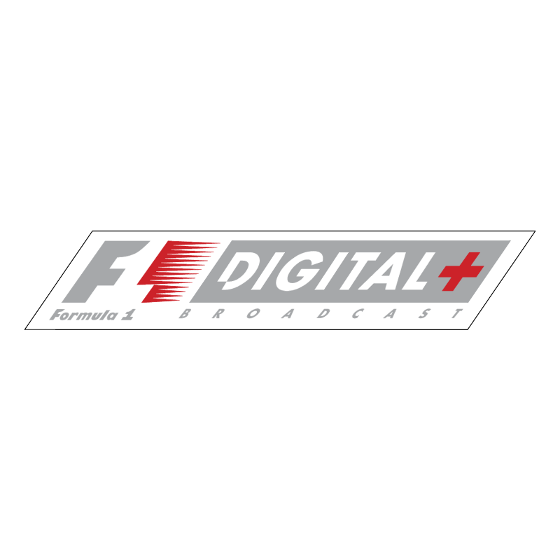 F1 DIGITAL+ vector