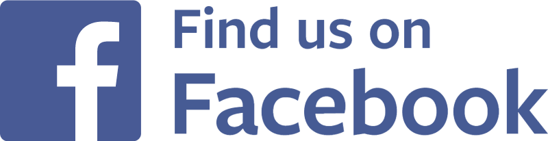 Image result for find us on facebook logo png