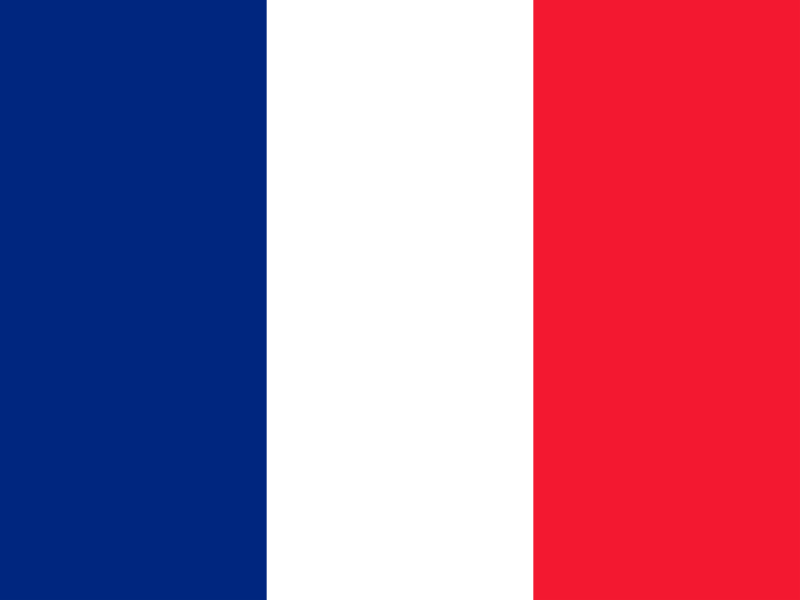 Flag of Saint Pierre and Miquelon vector