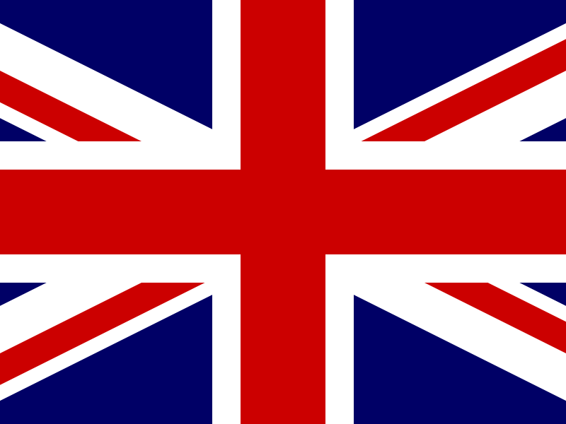 Flag of United Kingdom of Great Britain and Northern Ireland vector