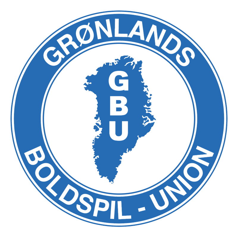 Gronlands Boldspil Union vector