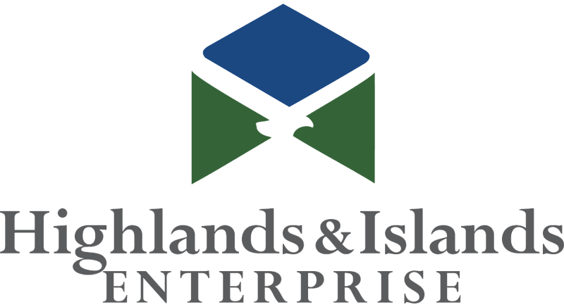 HIGHLANDS & ISLANDS ENTERPR vector
