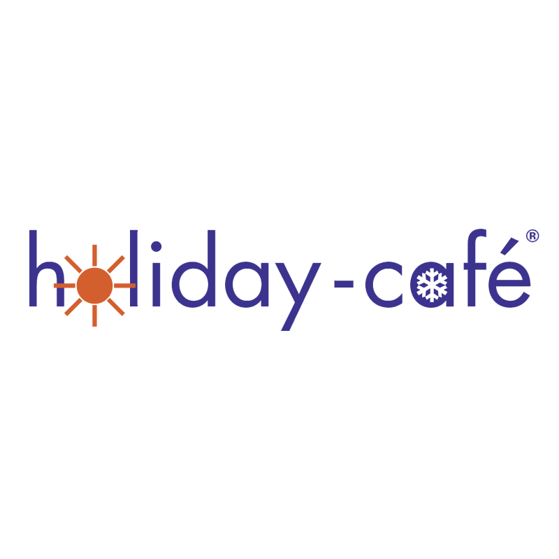 Holiday Cafe vector logo