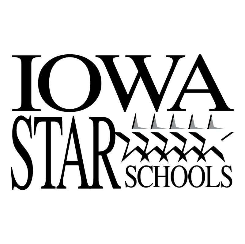 Iowa Star Schools vector