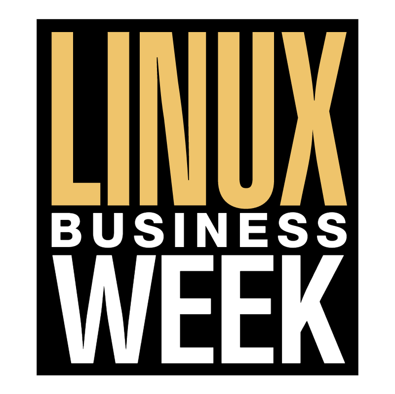 Linux Business Week vector logo