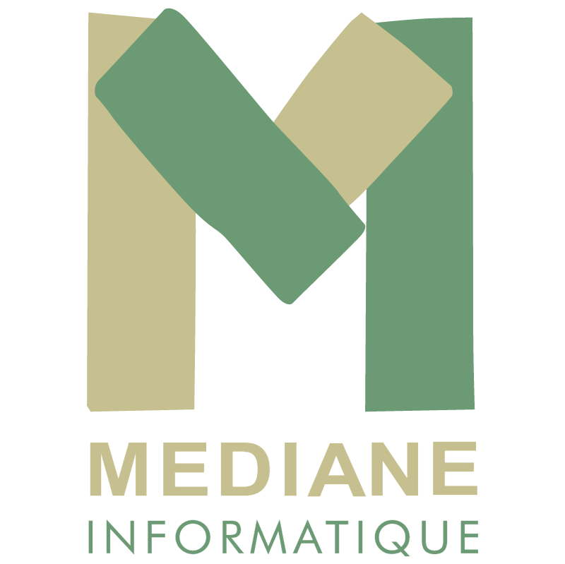 Mediane Informatique vector